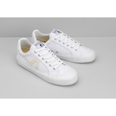 GROUND TENNIS W - CANVAS/GREAT - WHITE/WHITE