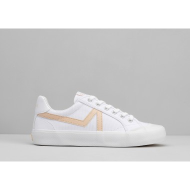 ARMISTICE GROUND TENNIS W - CANVAS/GREAT - WHITE/PINK