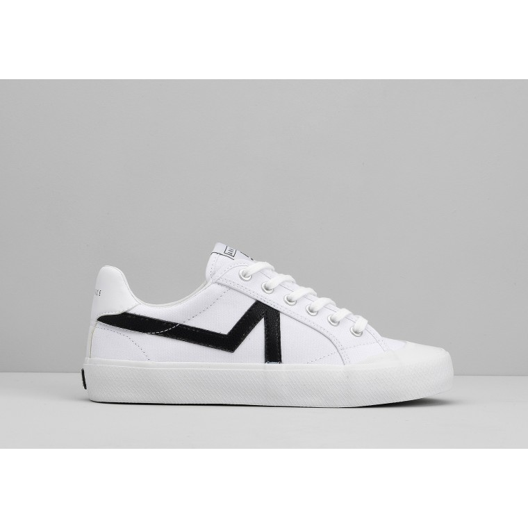 ARMISTICE GROUND TENNIS W - CANVAS/GREAT - WHITE/BLACK