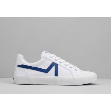 ARMISTICE GROUND TENNIS M - CANVAS/GREAT - WHITE/BLUE