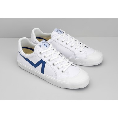 GROUND TENNIS M - CANVAS/GREAT - WHITE/BLUE
