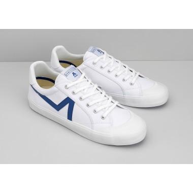 GROUND TENNIS M - CANVAS/GREAT - WHITE/BLUE
