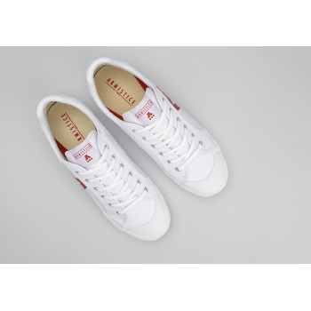 ARMISTICE - GROUND TENNIS M - CANVAS/GREAT - WHITE/RED