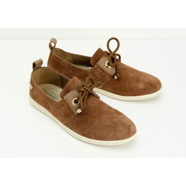 STONE ONE W - GOAT SUEDE - CAMEL