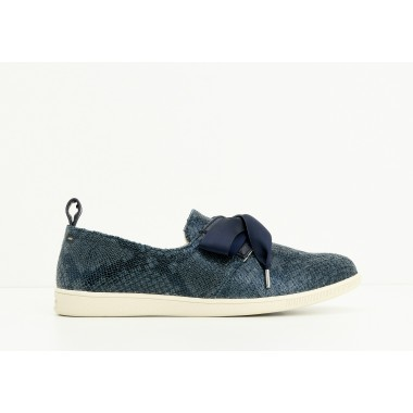 STONE ONE W - PRINT SNAKE - AZUR SOLE DOVE