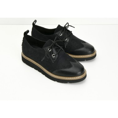 FOX DERBY W - SERPO/PICKLES - BLACK/BLACK