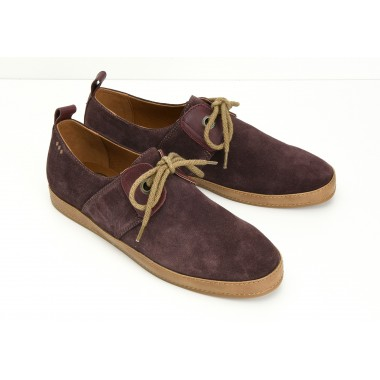 CARGO ONE M - SUEDE - BURGUNDY