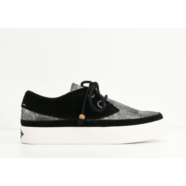SONAR INDIAN W - CREAKY/SUEDE - ACIER/BLACK
