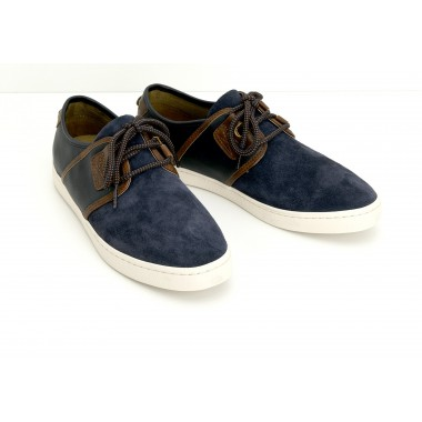 DRONE ONE M - SUEDE/BROOKS - NAVY/NAVY