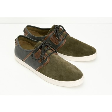 DRONE ONE M - SUEDE/BROOKS - ARMY/ARMY