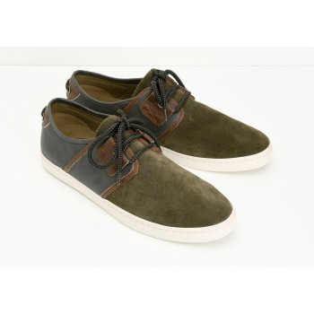 ARMISTICE - DRONE ONE M - SUEDE/BROOKS - ARMY/ARMY