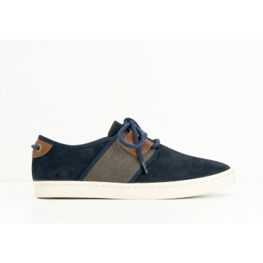 ARMISTICE DRONE ONE M - NUBUCK GR./BOY - NAVY/BLACK