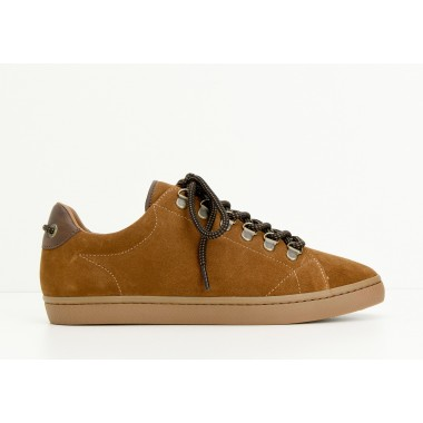 DRONE HOOKS M - SUEDE - CAMEL SOLE MASTIC