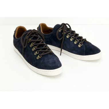 DRONE HOOKS M - SUEDE - NAVY SOLE DOVE