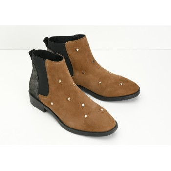 ARMISTICE - WOOKIE CHELSEA W - GOATSUEDE/STARS - CAMEL SOLE BLACK