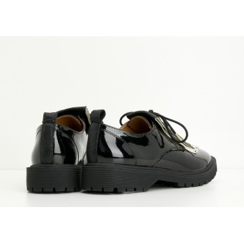 ARMISTICE - ROCK DERBY W - PATENT - BLACK SOLE BLACK