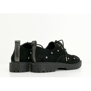 ARMISTICE - ROCK DERBY W - GOATSUEDE/STARS - BLACK SOLE MAT BLACK