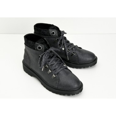 ROCK MID W - COZY - PLOMB SOLE BLACK MAT