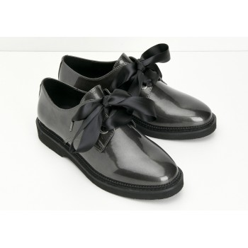 ARMISTICE - STOCK DERBY W - GLOSSY - ARDOISE SOLE BLACK