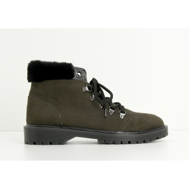 ROCK MID W - BOABOA - ARMY SOLE TRANSLU