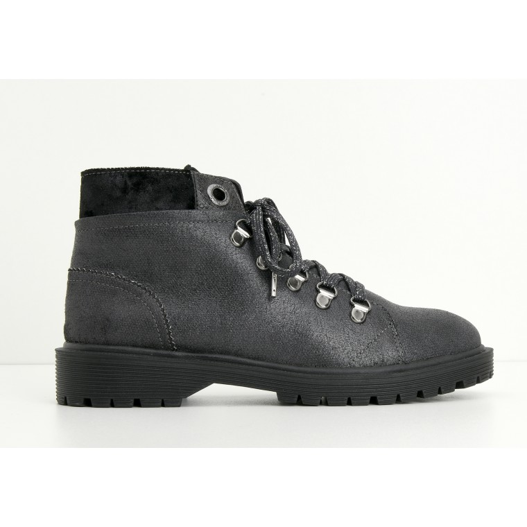 ARMISTICE ROCK MID W - COZY - PLOMB SOLE BLACK MAT