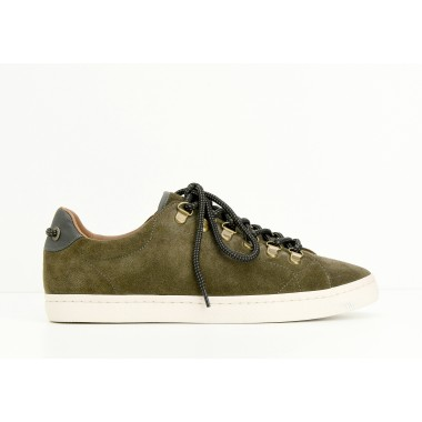 DRONE HOOKS M - SUEDE - ARMY SOLE DOVE