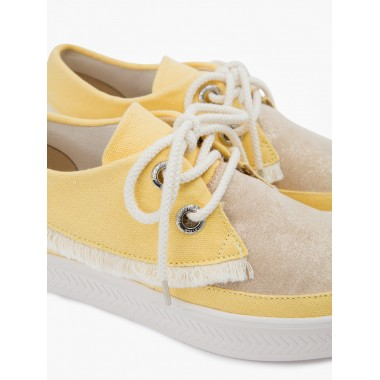 Sonar Indian W - Flow/Denim - Gold/Citron