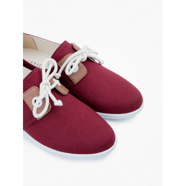 Stone One W - Twill - Burgundy
