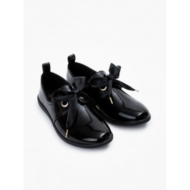 Stone One W - Patent - Black Sole Black