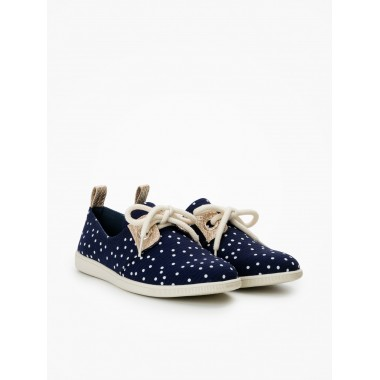 Stone One W - Flock - Navy