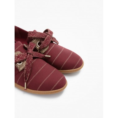 STONE ONE W - SMOCKING - BORDO