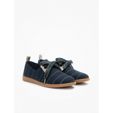 ARMISTICE STONE ONE W - SMOCKING - NAVY