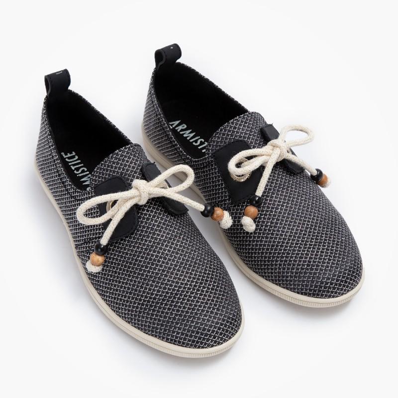 Chaussures à lacets Armistice noir femme STONE ONE W LOZ