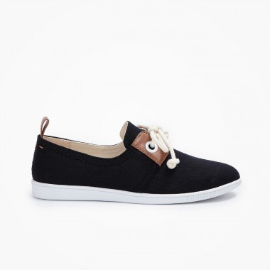 Stone One W - Twill - Black
