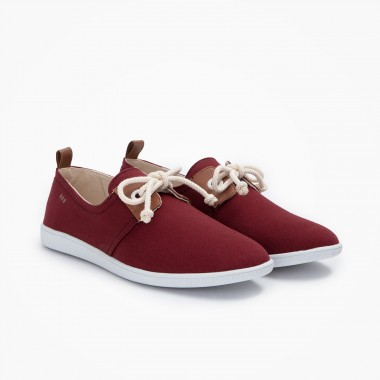 Stone One M - Twill - Burgundy