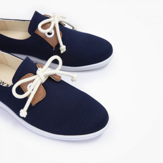 Stone One W - Twill - Navy