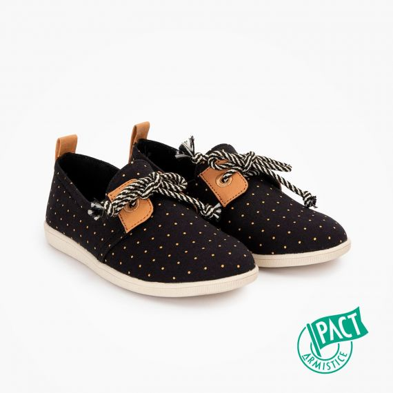 ARMISTICE STONE ONE K - ORG.CANVAS DOTS - NOIR