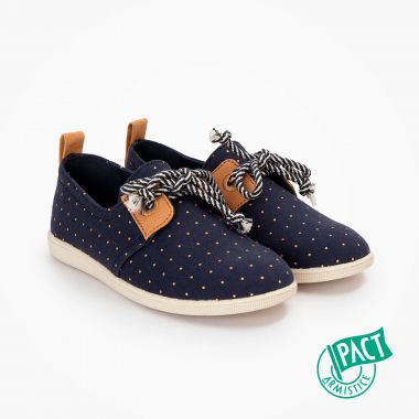 ARMISTICE STONE ONE K - ORG.CANVAS DOTS - MARINE