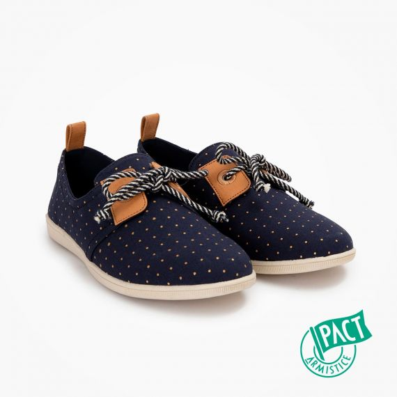 ARMISTICE STONE ONE W - ORG.CANVAS DOTS - MARINE