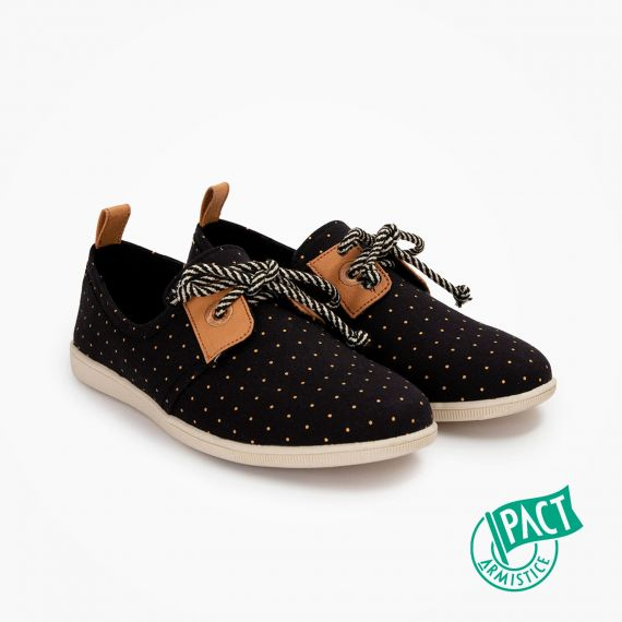 ARMISTICE STONE ONE W - ORG.CANVAS DOTS - NOIR