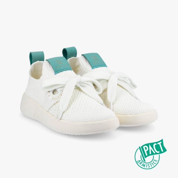 VOLT ONE W - DAISY RECYCLED - BLANC-JADE