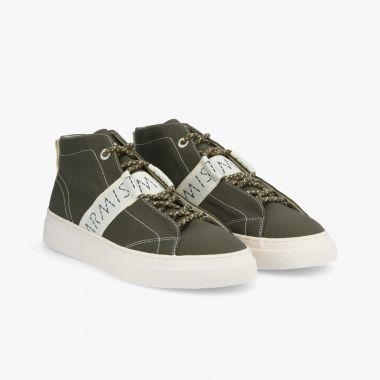 ARMISTICE ONYX MID M - CANVAS RECYCLED - OLIVE
