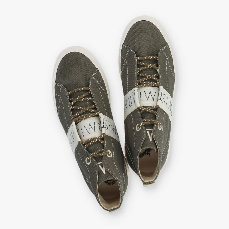 ARMISTICE - ONYX MID M - CANVAS RECYCLED - OLIVE