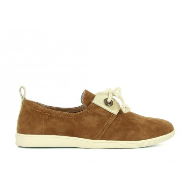 STONE GLOVE GOAT SUEDE - TABAC