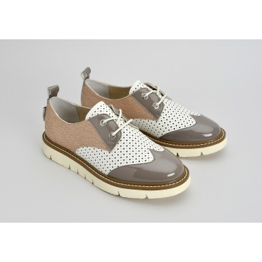 FOX DERBY - PERFO / REFLEX - DOVE / TAUPE