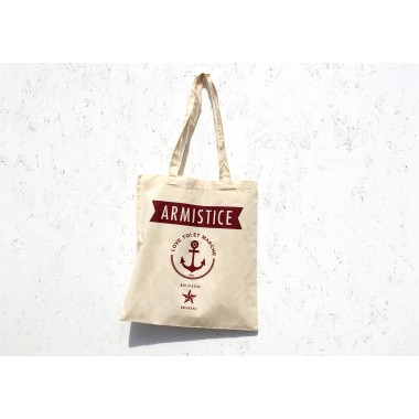TOTE BAG LOVE - COTON