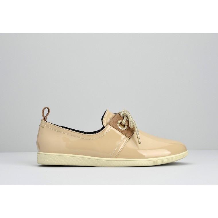 STONE ONE W - PATENT - NUDE SOLE DOVE