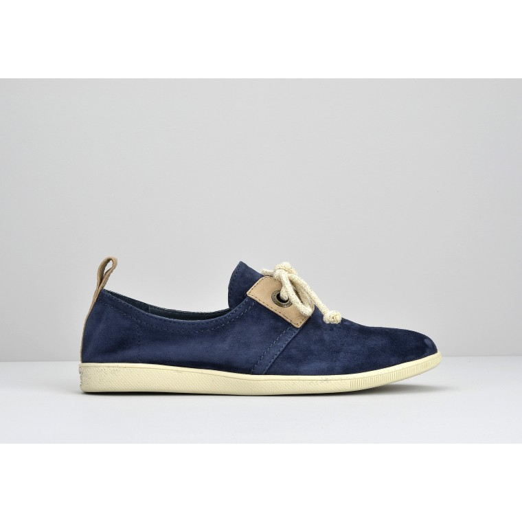 STONE GLOVE W - GOAT SUEDE - NIGHT BLUE