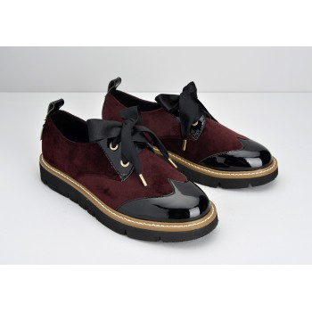 ARMISTICE - FOX DERBY W - COCOON/PATENT - BORDEAUX/BLACK