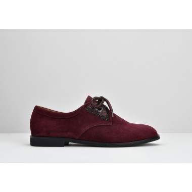 ARMISTICE HERO ONE W - GOAT SUEDE - BORDEAUX SOLE BLACK